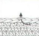 Схема петли за заднюю стенку