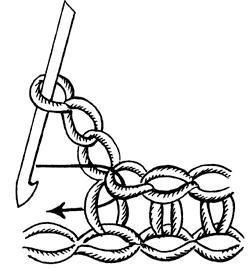Схема вязания пико