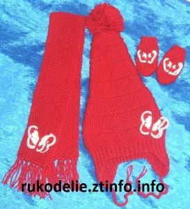 Красная шапочка-колпак