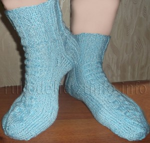 носки с жгутом