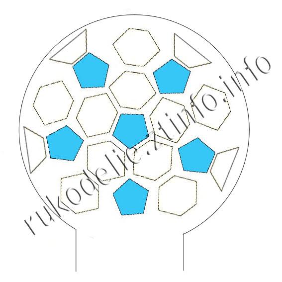 схема-банданы-футбольный-мяч