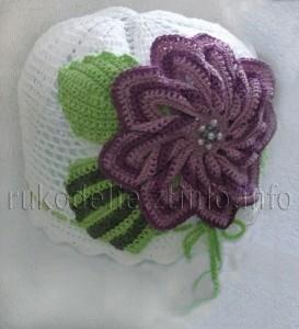 шапочка-с-цветком