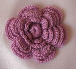 цветочек-розочка