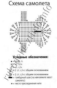 схема самолета