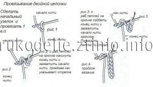 схема шнурка