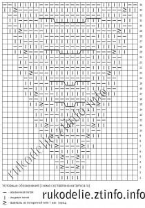 Схема-вязания-ушек-для-шапочки