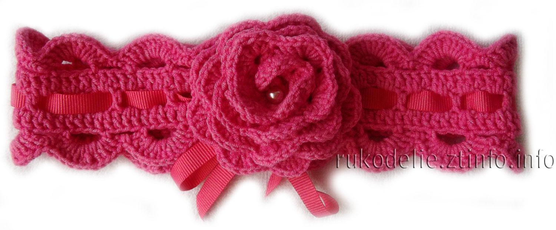 манишка для девочки7 лет схема вязания