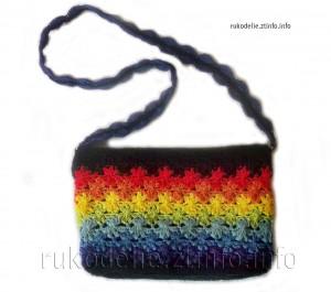 сумочка-крючком