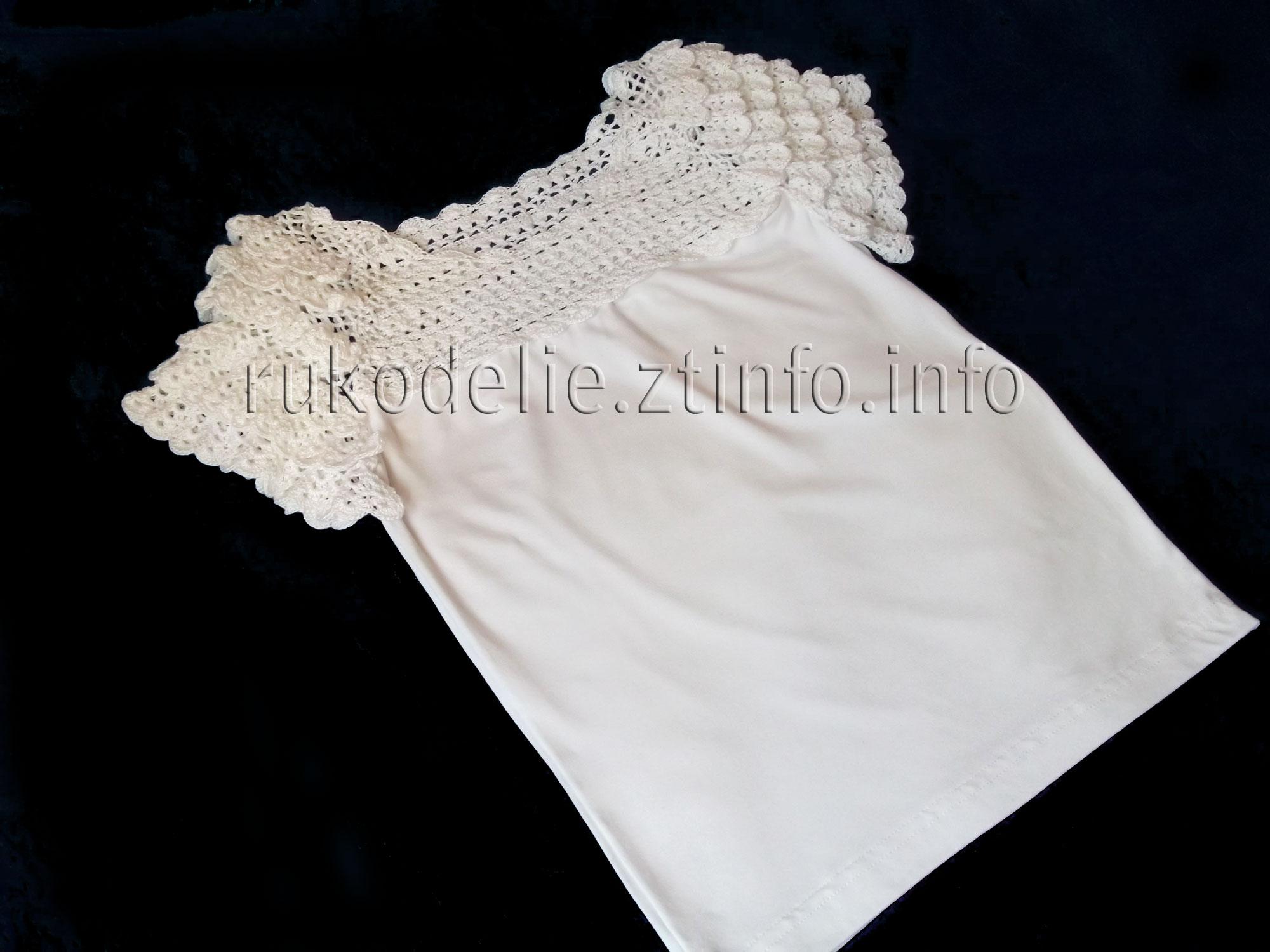 схема вязания платья для девочки из пряжи дантела