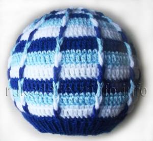 полоосатая-шапка