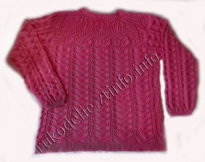 ажурный-пуловер
