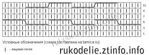 Схема-узора-плетенка