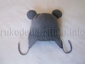 вязаная-шапка