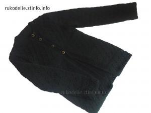 черный-кардиган